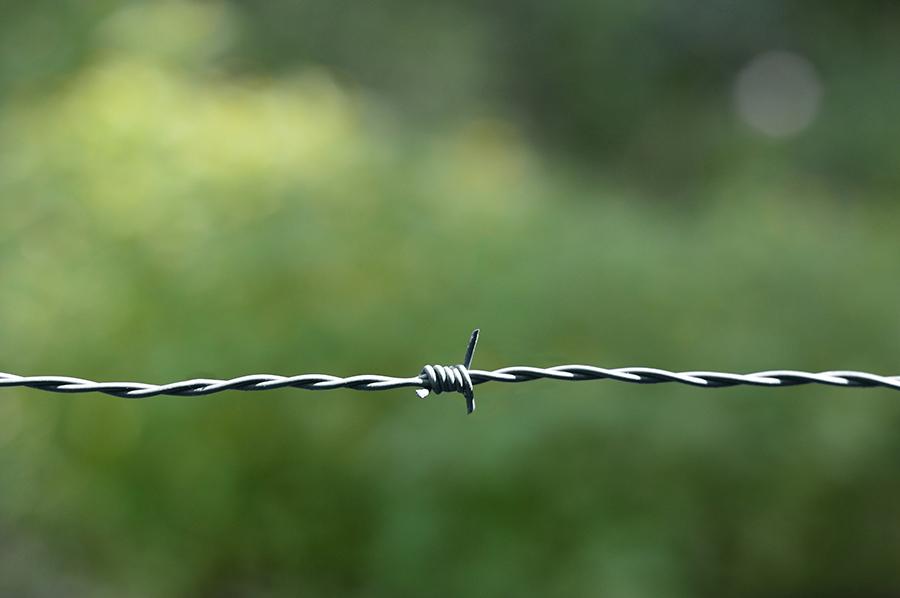 alambre de espino