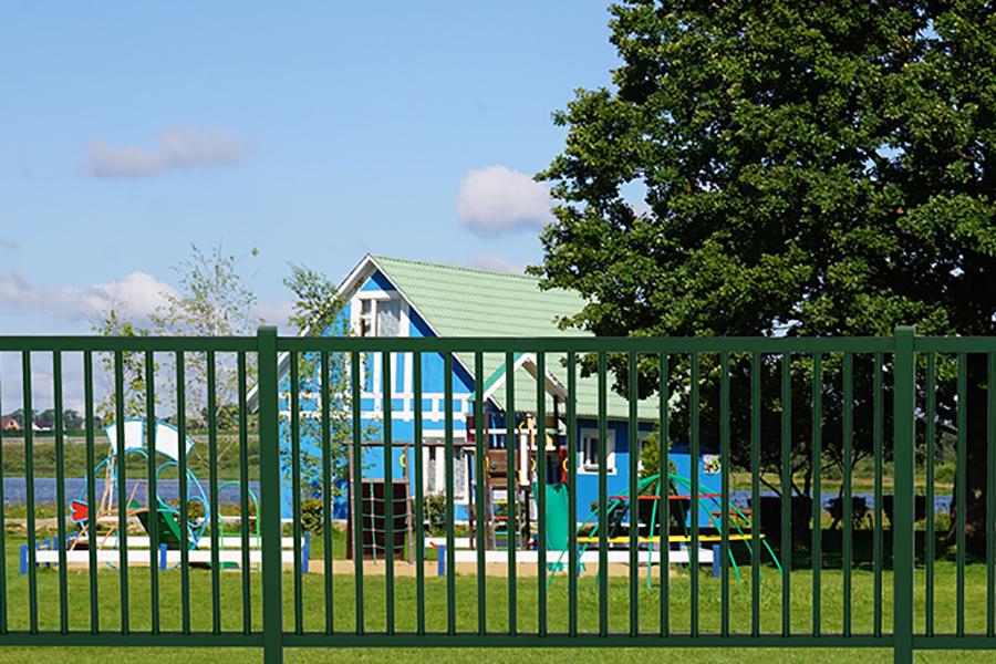 Verja Diabolo parque infantil